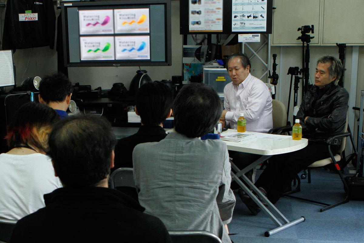 イベント 商品ライティングワークショップ by 高井哲朗・黒川隆広 2012.4.28